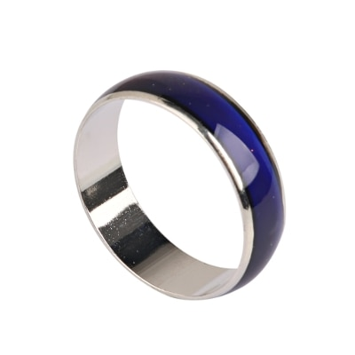 Phenovo Alloy Crystal Mood Ring Changing Colors By Emotional Feeling Band Us Siez 11