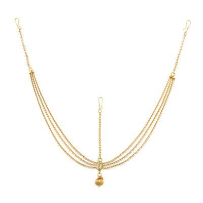 Satyam Jewellery Nx Traditional Gold Matha Patthi Antique Jewellery
