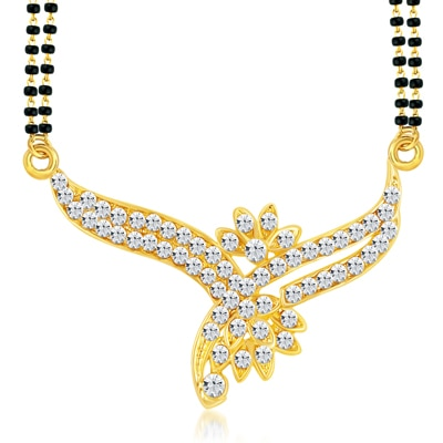 ShoStopper Stylish Gold Plated Australian Diamond Mangalsutra available at Paytm for Rs.75