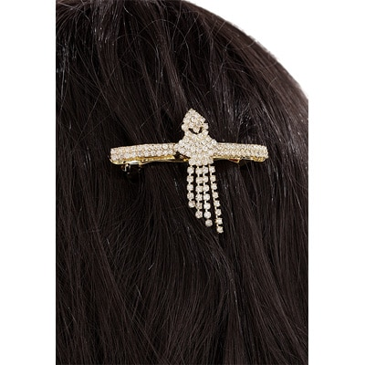 Sia Art Jewellery White Alloy Hair Jewellery