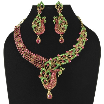Sia Art Jewellery Multi Alloy Necklace Set