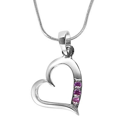 Surat Diamond Jewellery Silver Pendant
