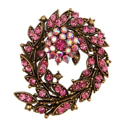Taj Pearl Pink Broach