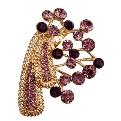 Taj Pearl Purple Broach