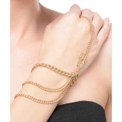 The Pari Gold Bracelet (Size-7.5)