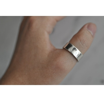 Mens SilverThumb Ring