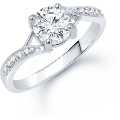 VK Jewels White Ring