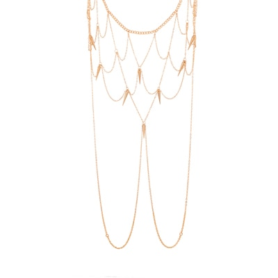 Voylla Gold Toned Light Weighted Body Chain