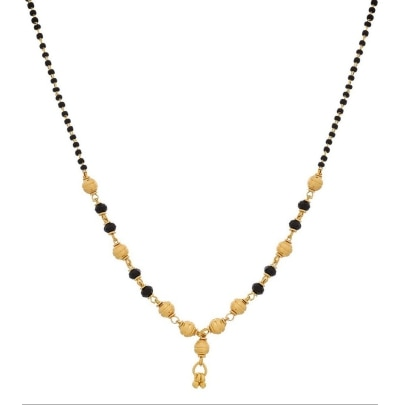 YouBella Gold Plated Jewellery Mangalsutra Pendant with Chain For Girls And Women available at Paytm for Rs.85