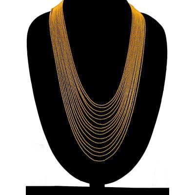 Zaveri Pearls Gold Necklace