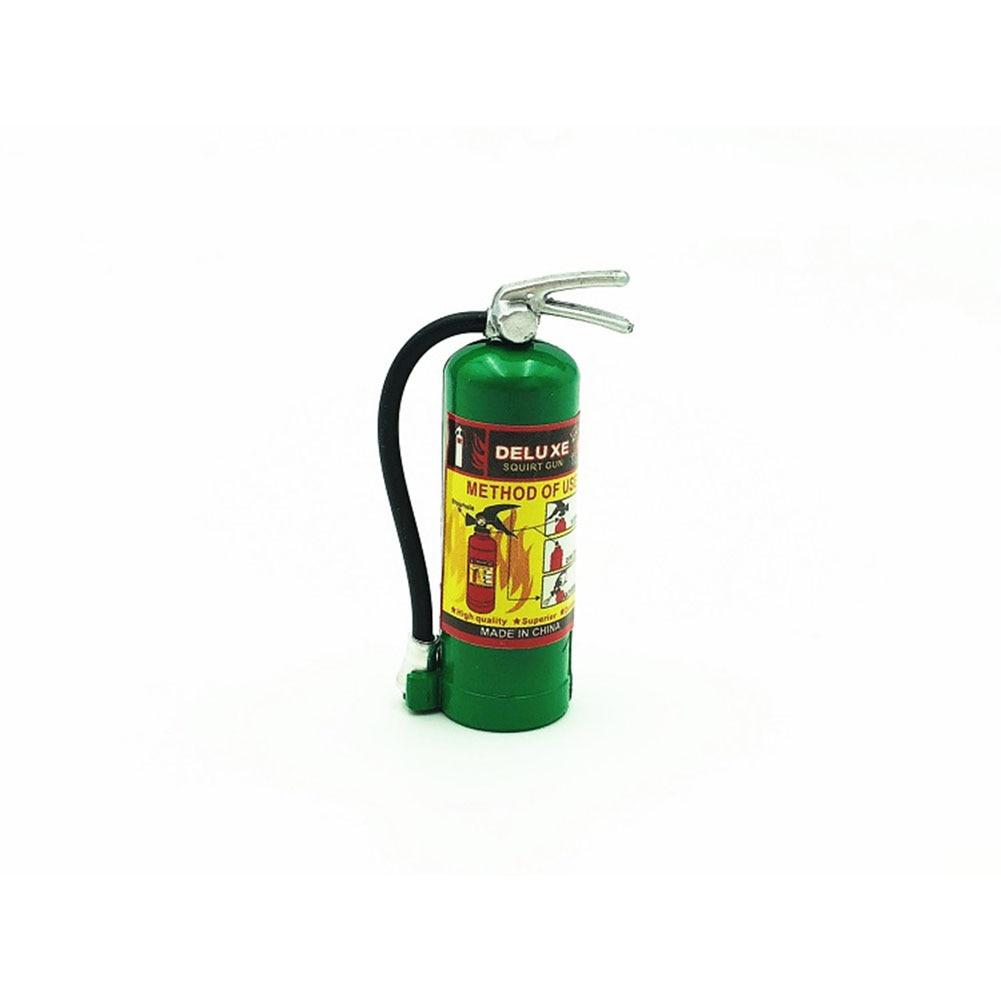 1/10 RC Crawler Accessory Parts Fire Extinguisher Model for RC CAR AXIAL SCX10 TRX4 D90 CC01 Color: green