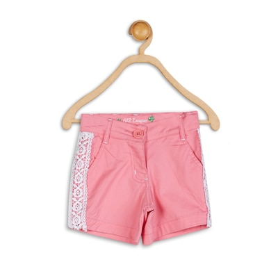 612 League Pink Cotton Short