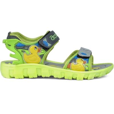 Action Shoes Dotcom Kids Footwear Ks-124 Grey-Green