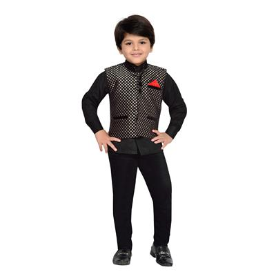 AJ Dezines Kids Shirt Waistcoat and Pant Set