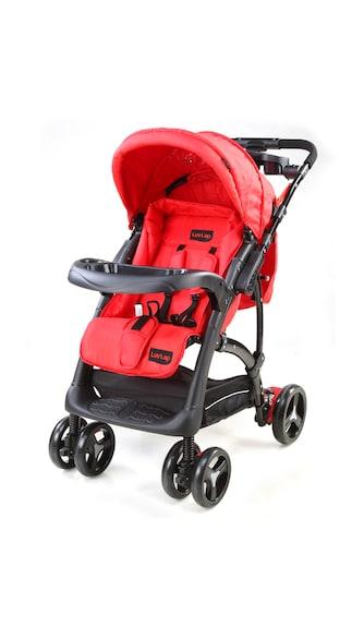 LuvLap Baby Stroller Sports Pram Red/Black