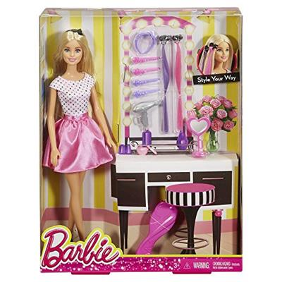 Barbie Doll & Play Set Style Your Way - Djp92