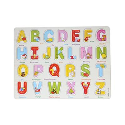 Baybee Wooden Alphabet Puzzle with knobs