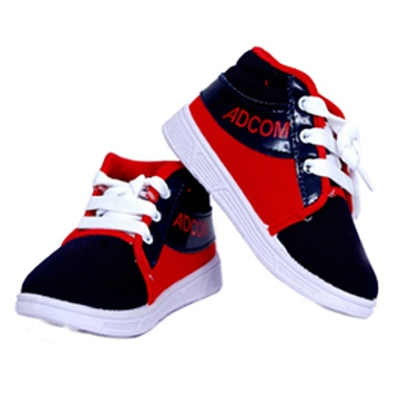 Black Kids Casual Shoes