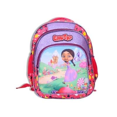 Chhota Bheem Chutki Premium School Bag - 14 inches