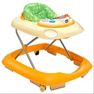 Chicco Band Musical Baby Walker Wave Orange