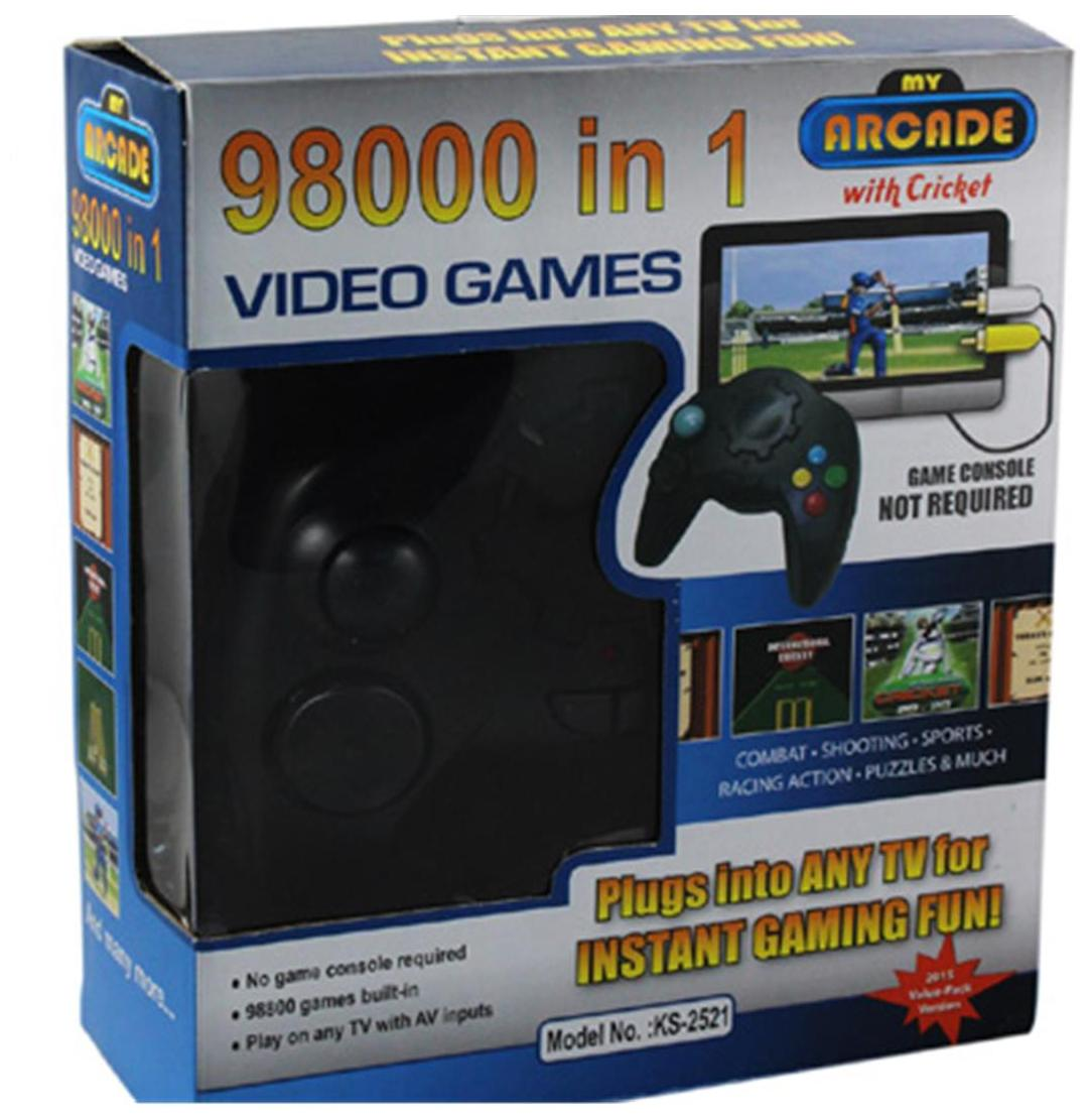 Cubee Video Games 98000 In 1