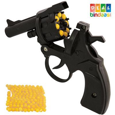 DealBindaas Revolver Gun Toy With 100 BB Shots