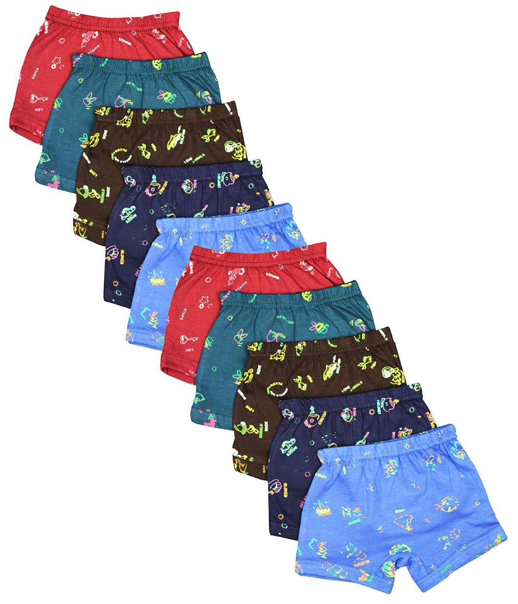 Elk Kids Baby Printed Panty Trouser Bloomer Innerwear 10 Piece Combo