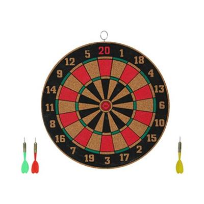 Facto Power Hand Made 18 Inch Double Side Dart Board...