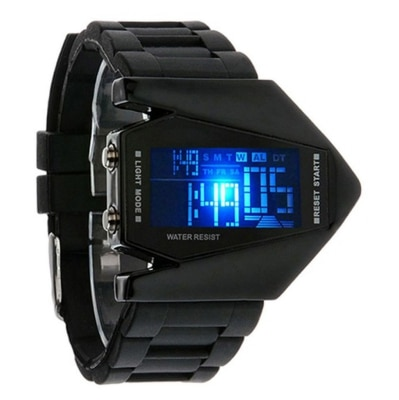 Fastzone Enterprise Black Digital Kid's Watch