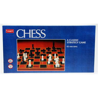 Funskool 2884736300 Chess Board Game Black And Brown