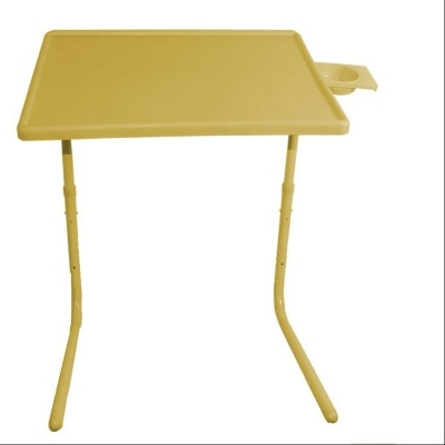 Ibs TABLEMATE YELLOW ADJUSTABLE PORTABLE FOLDING KIDS DINNER LAPTOP STUDY...