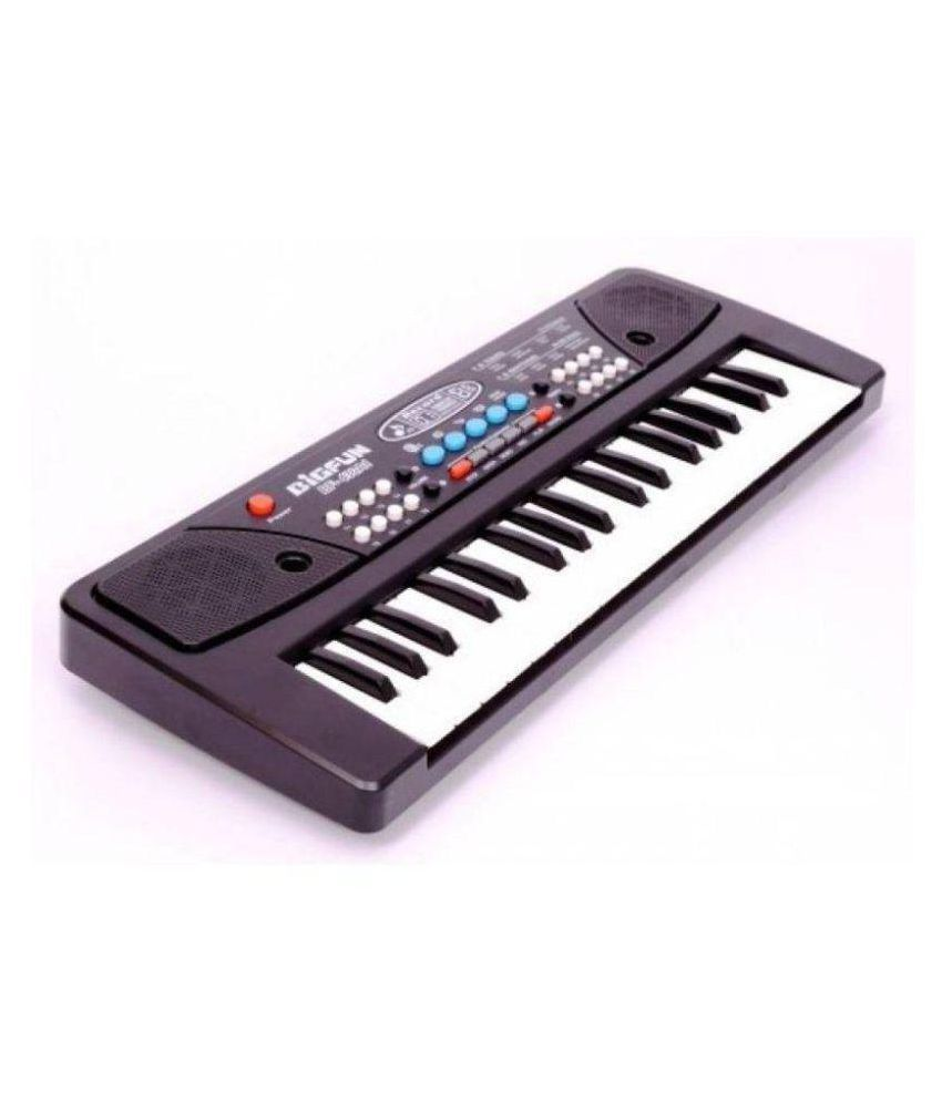 jk int Multi Color Piano with Microphone