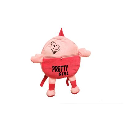 JRP Mart Pink Pretty Girl Soft Toy Bag - 40 CM