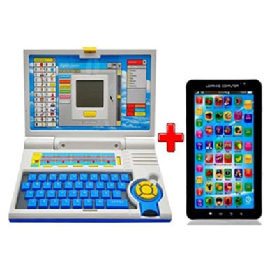 JS Learning Laptop With Free Learning Tablet