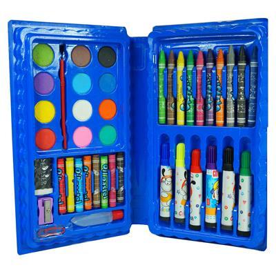 Kidz 42 Pcs Color Set , Crayons,Oil Pastel,Sketch Pen Set