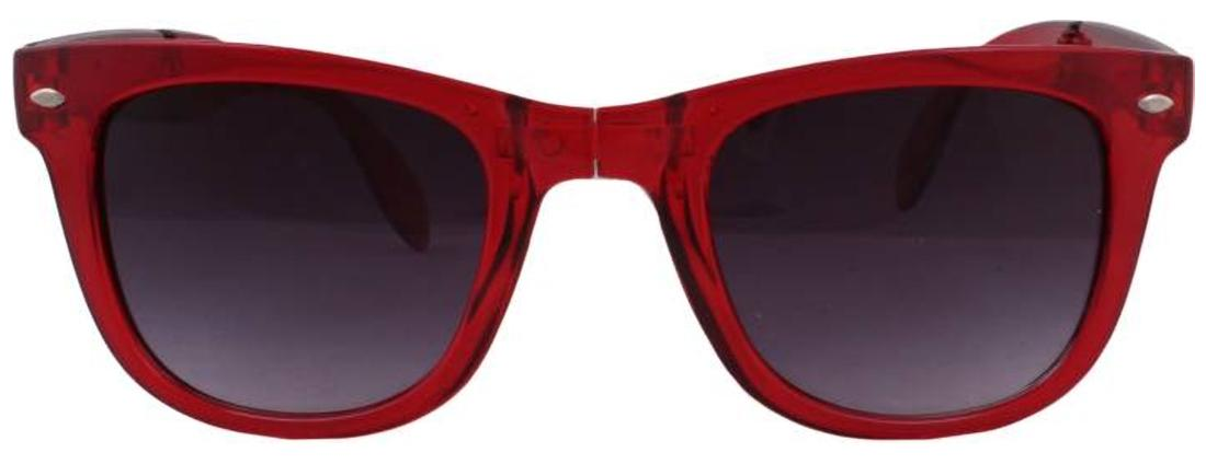 Kidz Folding Wayfar Sunglasses Maroon