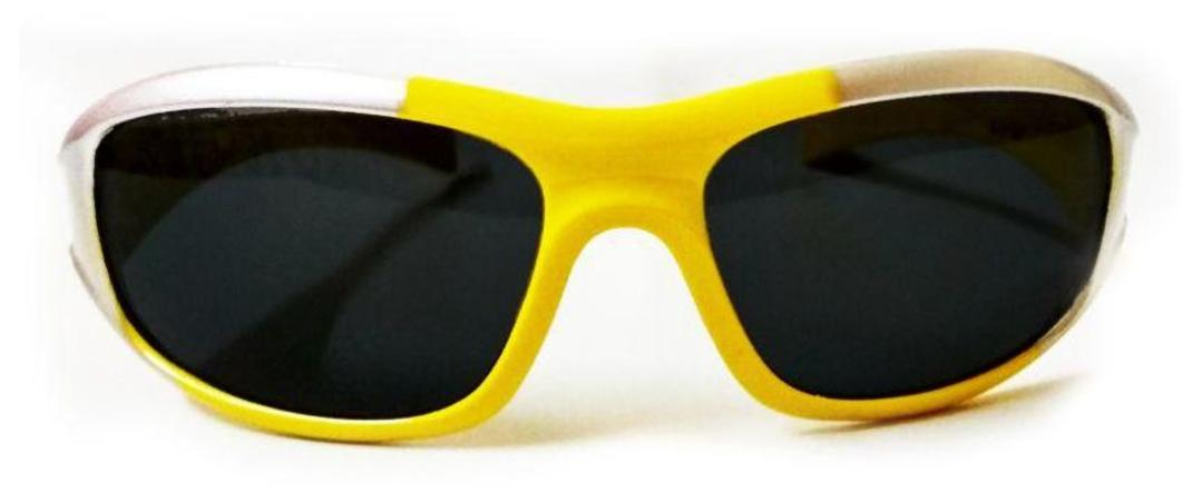 Kidz Wrap Around Sunglasses Yellow