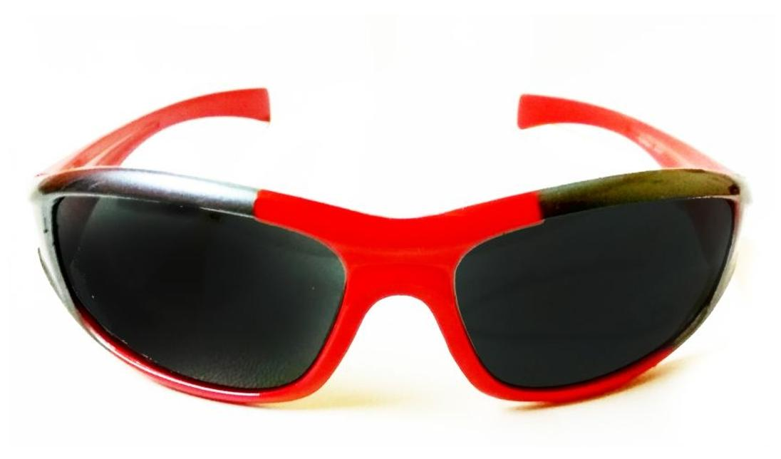 Kidz Wrap Around Sunglasses Red