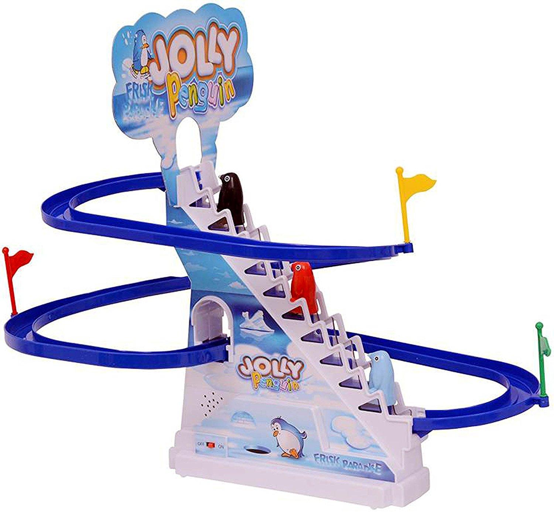 Kririn24 Jolly Penguin Race Track Series Plastic Multicolour