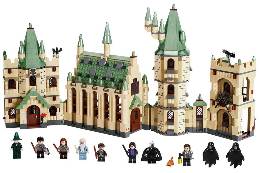 LEPIN 16030 1340pcs Movie Series Harry Potter Hogwart's Castle Model Building Blocks Bricks Kit - Plastic Bag Packaged
