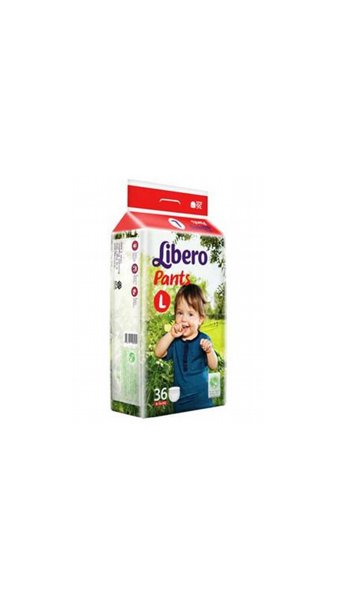 Libero Diaper Pant Large 36 Count