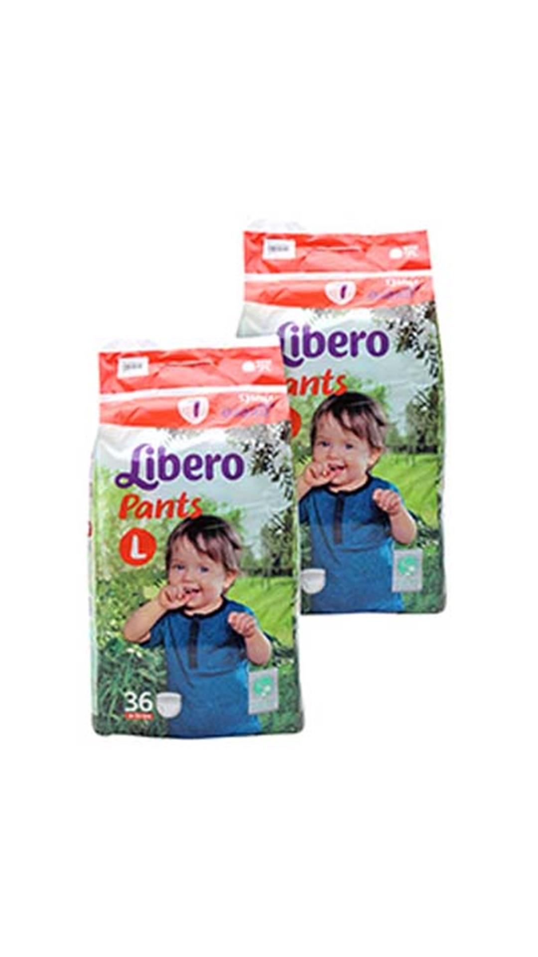 Libero Pants Diaper Large 36 Pcs (Pack of 3)