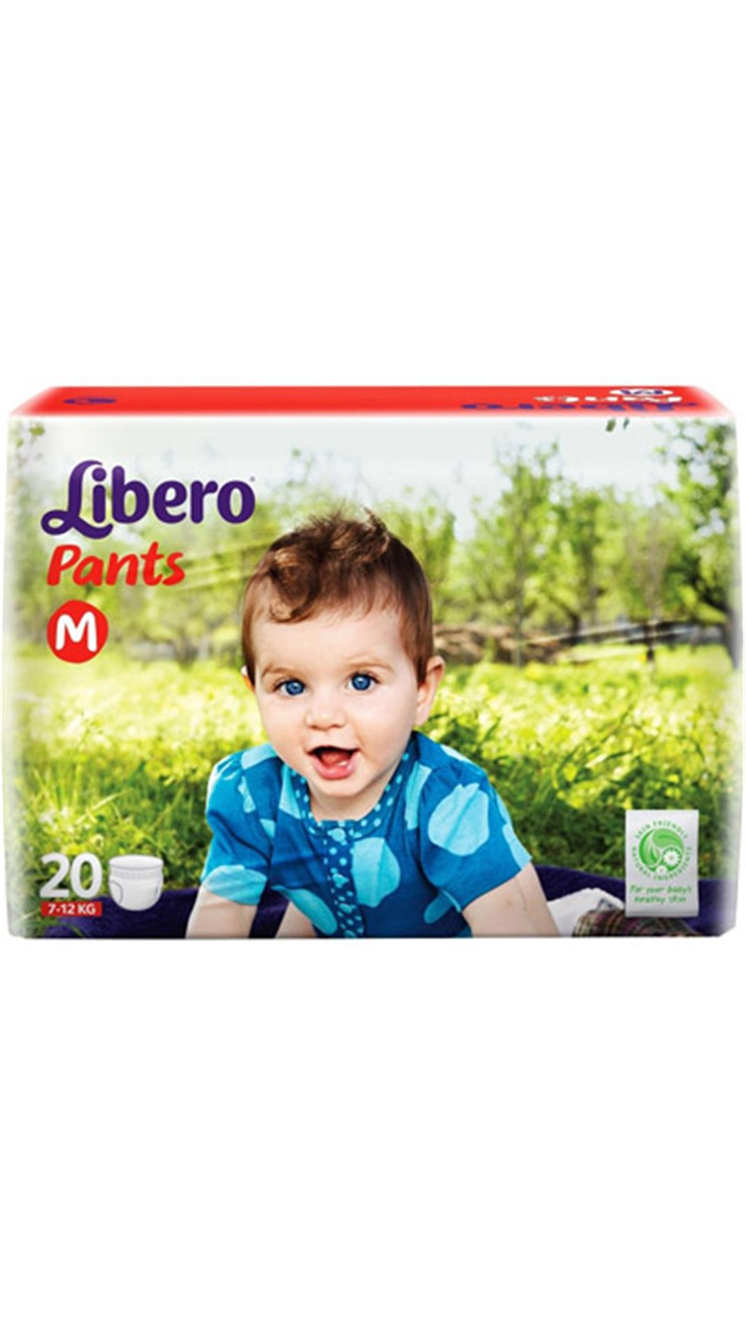 Libero Pants Diaper M - 20 Pcs(Pack of 3)
