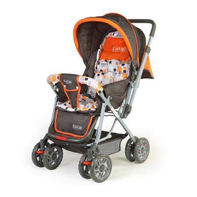 LuvLap Baby Stroller Pram Sunshine Orange