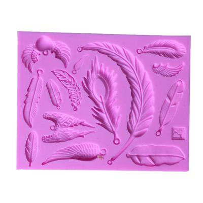 Magideal Silicone Fondant Cake Sugarcraft Decorating Mould Tools Wings #2