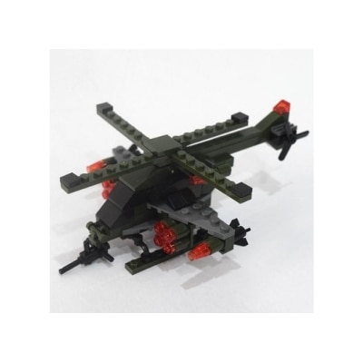 Mighty Raju R Blocks - Military Helicopter