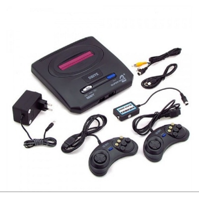 New Sega Megadrive 2 16Bit Video Game Console With 360...