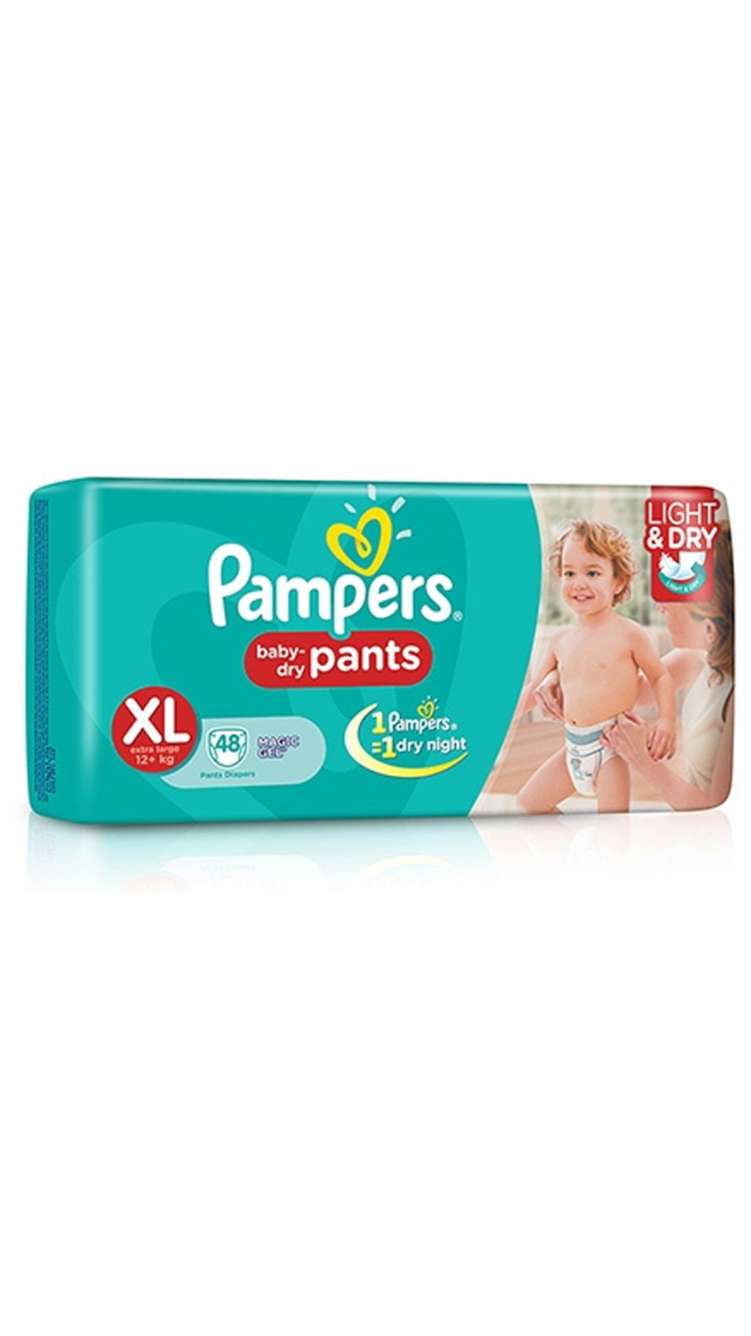 Pampers Baby Dry Pants Diaper XL - 48 Pcs