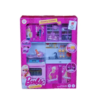 Real deals barbie kitchen set available at paytm for for Kitchen set offers