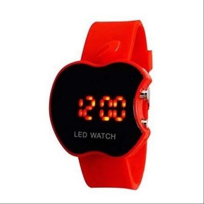 S2S Apple Shape LED Watch Red Digital Red Led Wrist...